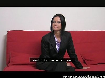 Casting - Business milf loves the cock