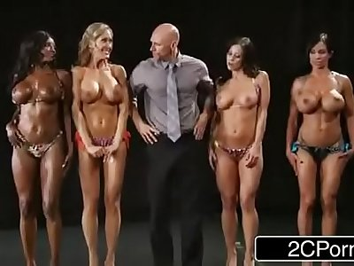 Fitness Contest Orgy - Brandi Love, Diamond Jackson, Kendra Lust, Jewels Jade