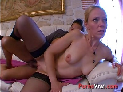 Amateur french orgy!!