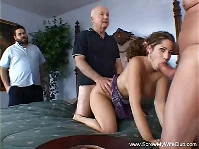 Swingers MILF Creampie Action