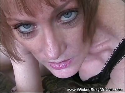 Mom Sucks Down Her Sons Cum