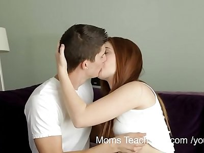 YouPorn - Moms Teach Sex Horny mom teaches stepdaughter how to fuck